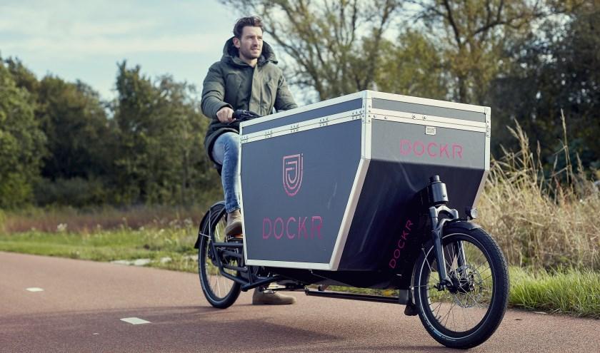Startup Dockr biedt elektrisch vrachtvervoer 'as a service' als hét antwoord op een groene 'last mile'. Foto: Bastiaan Musscher