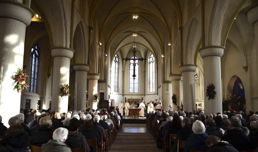 Op zondag 8 december wordt er een feestelijke viering in de Andreaskerk Zevenaar gehouden. (foto: Parochie Sint Willibrordus)
