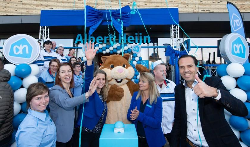 Feestelijke opening van de nieuwe Albert Heijn in Goes Westerschans