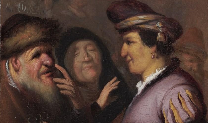 De lezing over de jonge Rembrandt wordt gegeven door dhr. Hoo-Man Chan