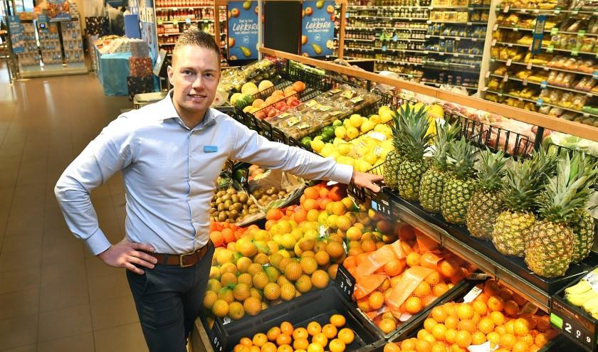 Ondernemer van de week: Roy Erinkveld van Albert Heijn Ulft. (foto: Roel Kleinpenning)