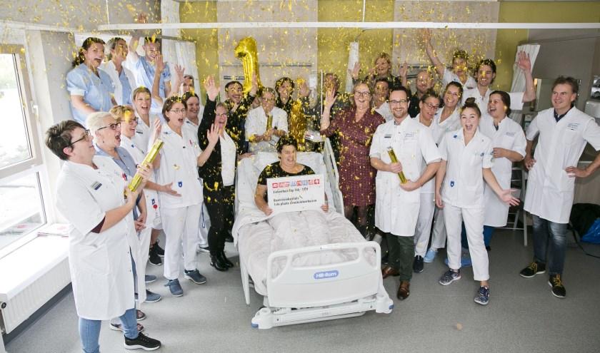 Blijdschap in het Beatrixziekenhuis in Gorinchem. (Foto: pr)