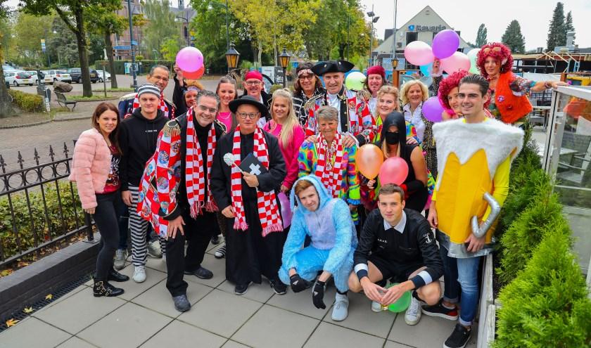 Het wordt een dolle boel met Dolle Boel, zaterdag 16 november op het Rommelgats Prinsenbal. FOTO: Bert Jansen.