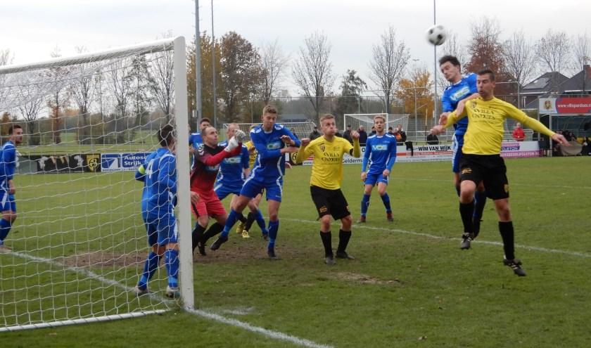 SV Capelle heeft zaterdag op bezoek bij GVV'63 met 1-0 verloren.