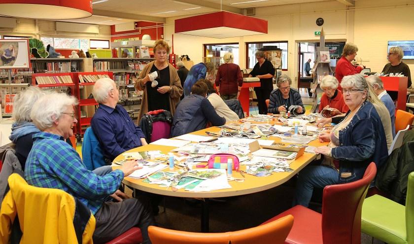 Een Zoute Inval tafel vol recepten voor en door actieve inwoners van Maarn-Maarsbergen.