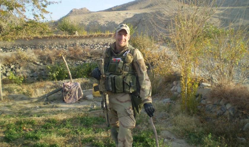Sander in Afghanistan