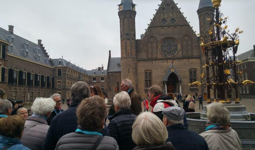 Leden Senioren Belangen op het Binnenhof