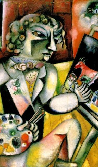 Aan bod komen kunstenaars als Chagall, Picasso en Mondriaan.
