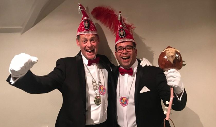 Prins Shadow de Ridder en Adjudant Hazelnoot zullen het Carnavalsseizoen 2019/2020 met volle inzet gaan vieren: Gas op de lolly!
