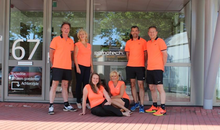 Het team bestaat uit: Jan Klop. Alie Kramer, Mirjam van Milligen, Nellie Bouwman, Henry Klop en Jaco Verbaan. (Foto: Privé)