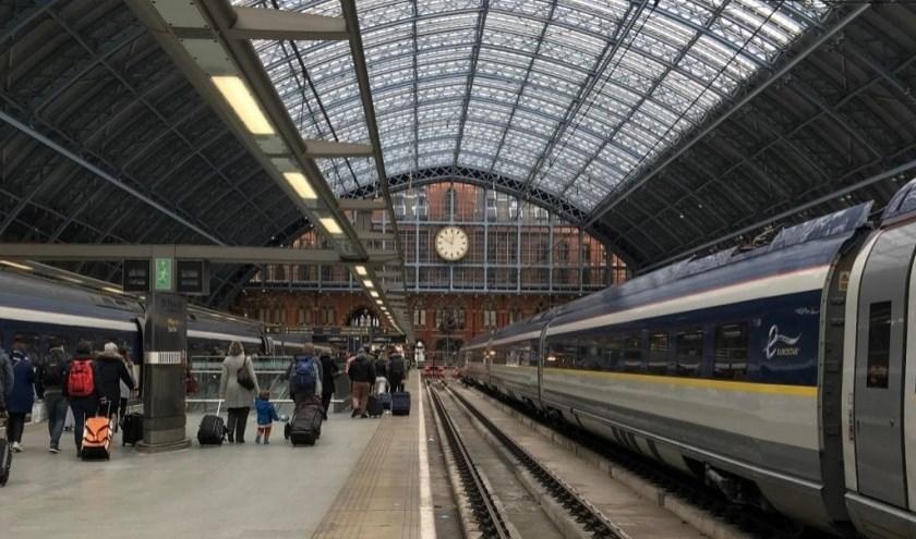 Binnenkort reis je zo vanuit Rotterdam naar St. Pancras International Station in Londen