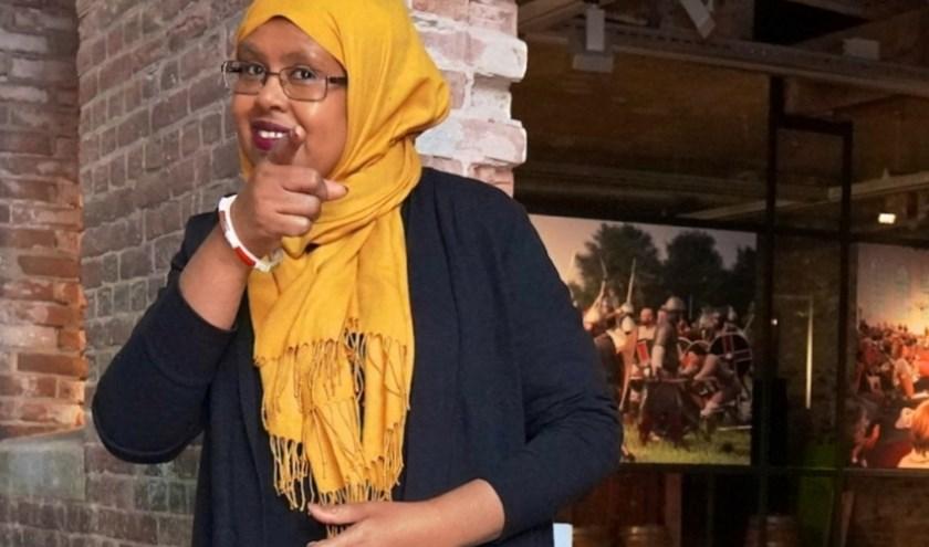 """Sahra Muse: """"Ik ben blij en trots een bijdrage te kunnen leveren aan het samenbrengen en verbinden van mensen."""""""
