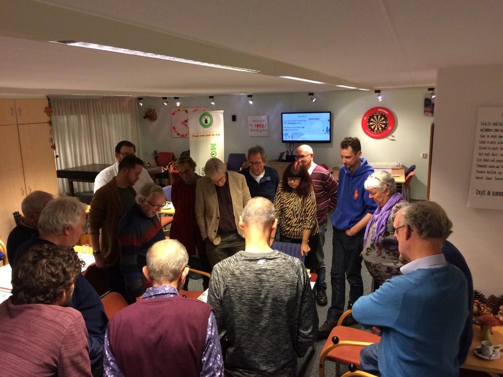 Dit jaar organiseerde het wijkplatform voor de wijkbewoners in Molenvliet al een aantal informatie- en spelavonden.  © DPG Media