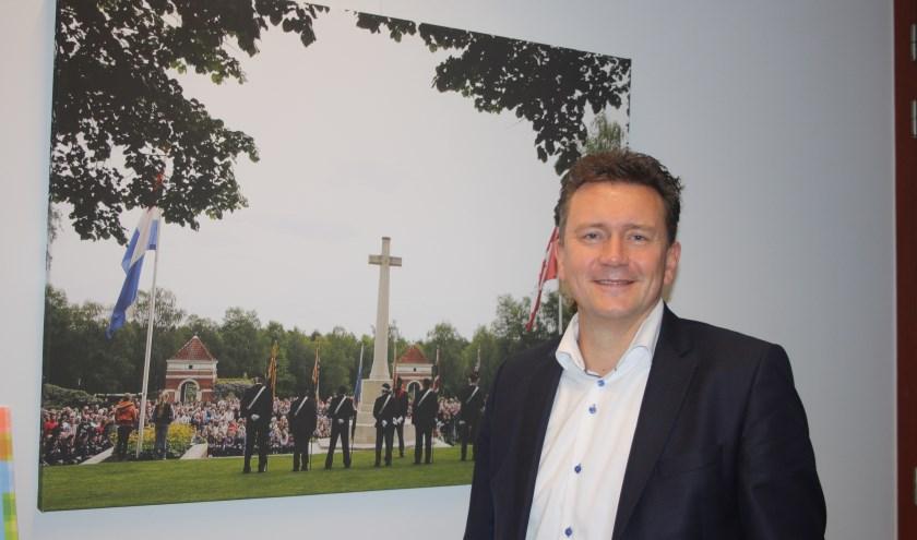 """Roland Cornelissen: """"Het wethouderschap heeft mij enorm veel inzicht gegeven van wat er allemaal gebeurt in onze gemeente. Ik heb bedrijven gezien waarvan ik niet eens wist dat ze in onze gemeente gevestigd waren."""""""