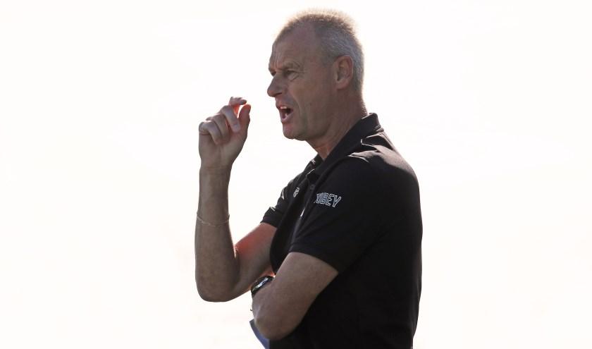 Henk Dirven doet met SSS uit Klaaswaal in de top van de zaterdag derde klasse C mee (archieffoto: John de Pater)