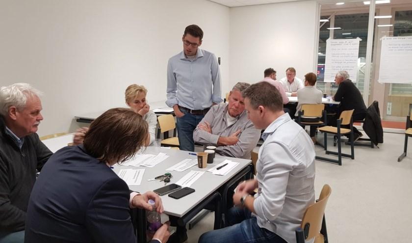 Tijdens goed bezochte bijeenkomsten zijn de ambities voor het Edese Sportakkoord geformuleerd.