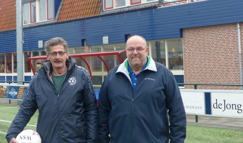 Links Bennie Mollink, rechts Anton Zwijnenberg.