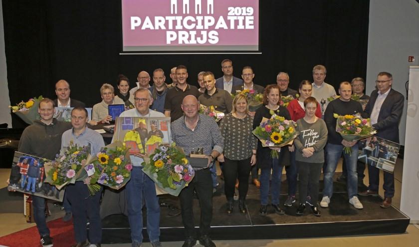 Alle genomineerden voor de Participatieprijzen 2019. Op www.participatieprijs.nl staan achtergrondverhalen van alle genomineerden.