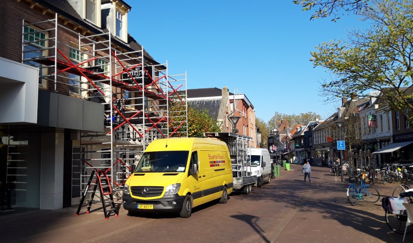 Er zijn werkzaamheden uitgevoerd om Het Stadscafé weer veilig te maken. (foto: Danny van der Kracht)