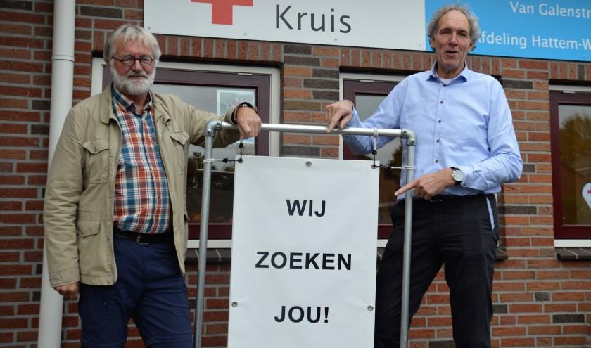 Het Rode Kruis op de Noord- Oost Veluwe is op zoek naar nieuwe vrijwiligers om alle plannen te kunnen voortzetten.