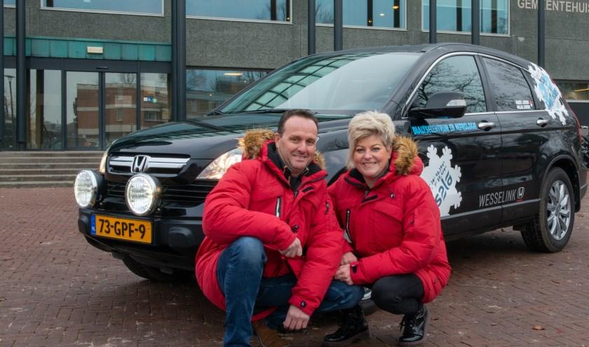 Harco en Willia Jacobs uit Epe doen mee met de ScanCoveryTrial. Ze zamelen geld in voor de afdeling Nefrologie van de Isala kliniek in Zwolle.