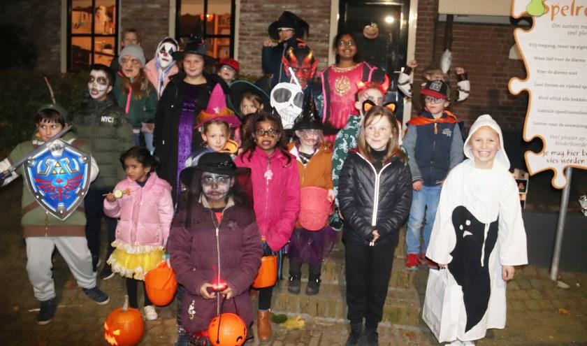 Het werd een echte Halloweenoptocht voor de jeugd in wijk Voorkoop te Culemborg