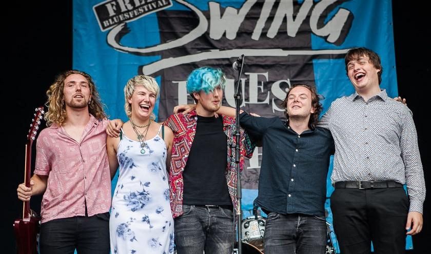 Eind januari 2020 zal de band Nederland mogen gaan vertegenwoordigen op de Internationale Blues Challenge in Memphis,. Foto: Bert Lek
