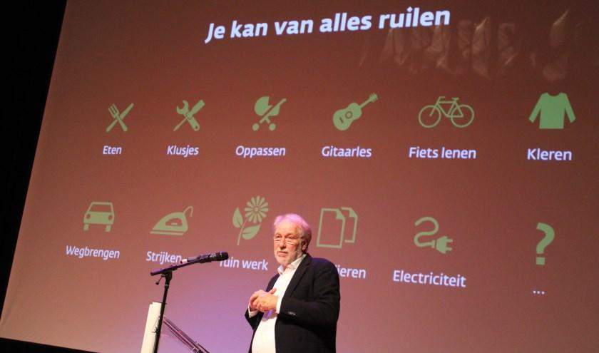 Professor Jan Jonker lanceerde in Heerde de pilot SamSam Bankieren.