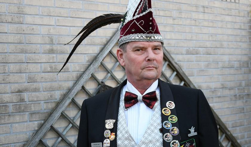 Fred Schweertman is de nieuwe voorzitter van Carnavalsvereniging de Griethtreejers. (foto: Ab Hendriks)