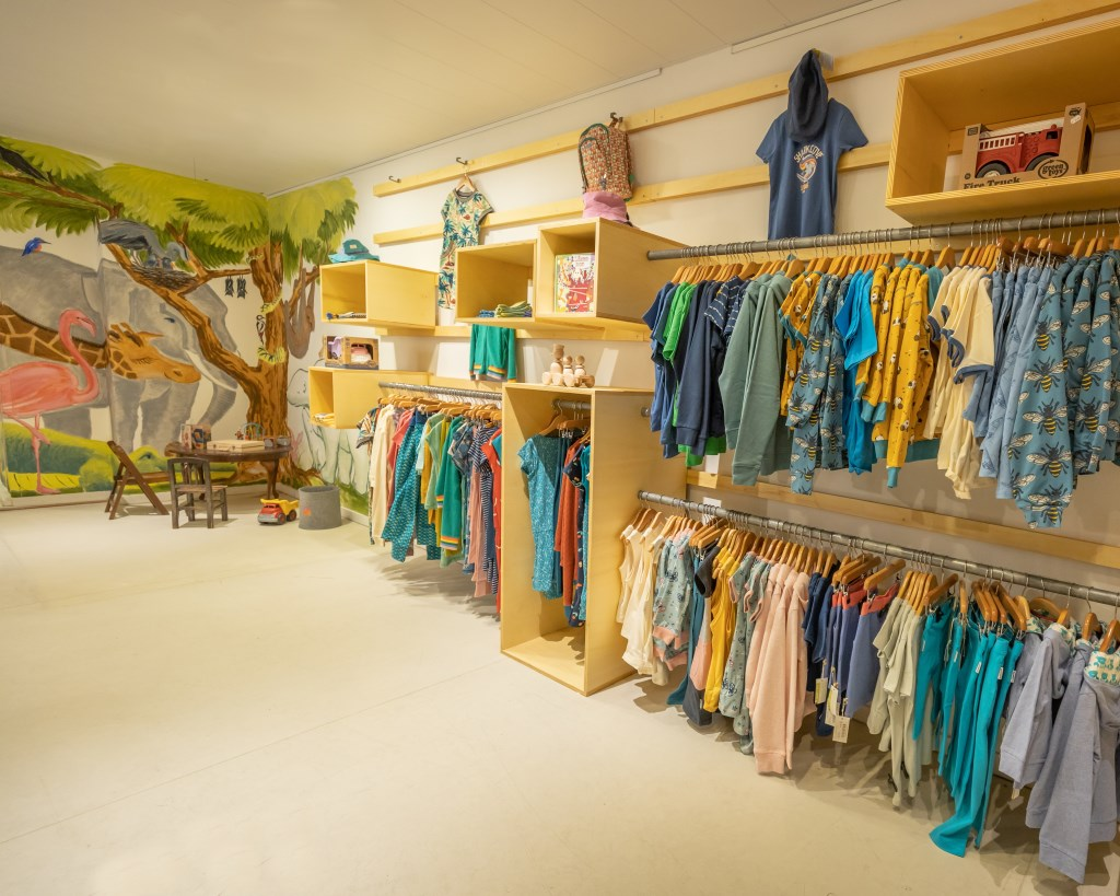Kinderhoek in de winkel (assortiment en speelhoek) Foto: Jonathan Oosterhout, TubioPlan © DPG Media