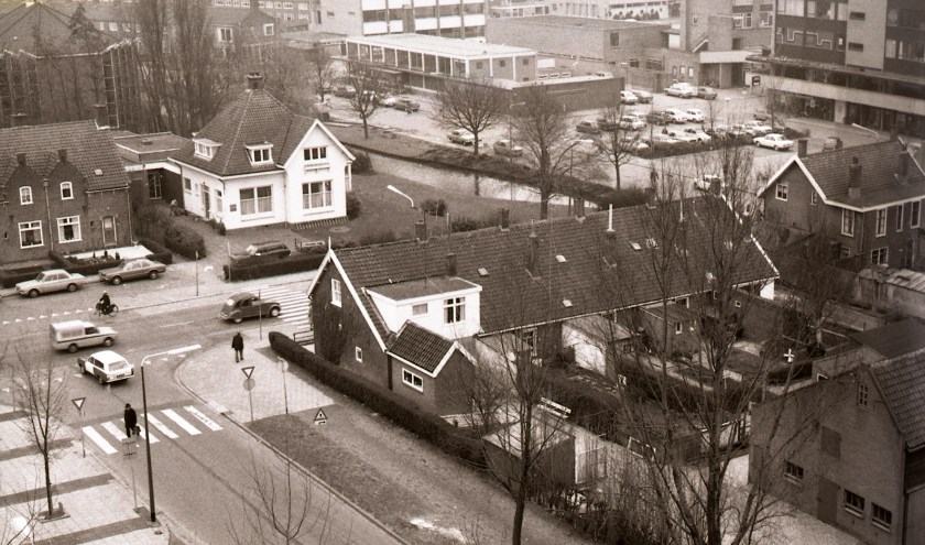 Het centrum van Papendrecht is de laatste jaren ingrijpend veranderd. (Foto: archief Dorpsbehoud/Nico Knol).