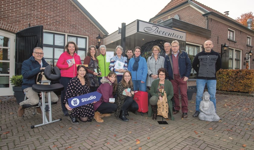Een groot aantal standhouders die meedoen aan het Happy & Healthy Lifestyle Event voor Zalencentrum Berentsen in Loo.
