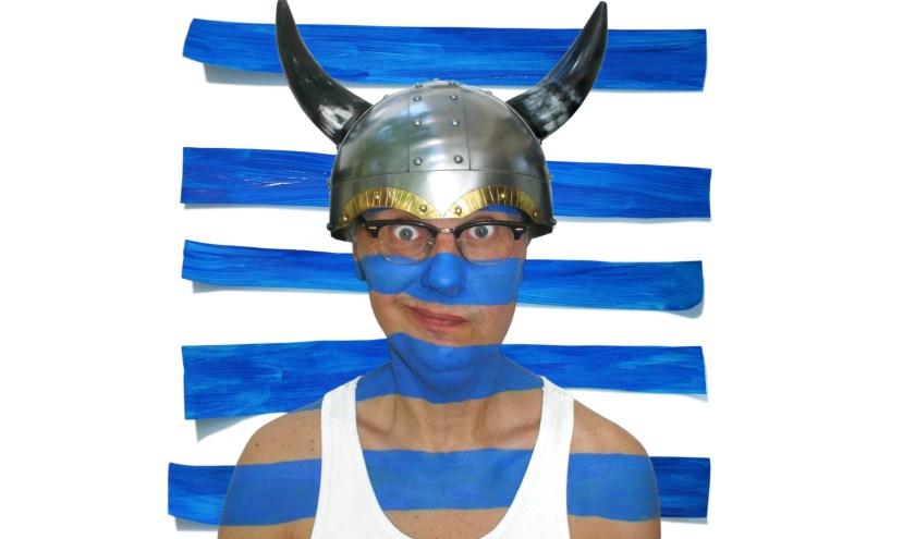 Mark van de Veerdonk komt met zijn programma 'Geen viking' naar Den Bolder. Voor een select gezelschap heeft hij een kleedkamersessie.