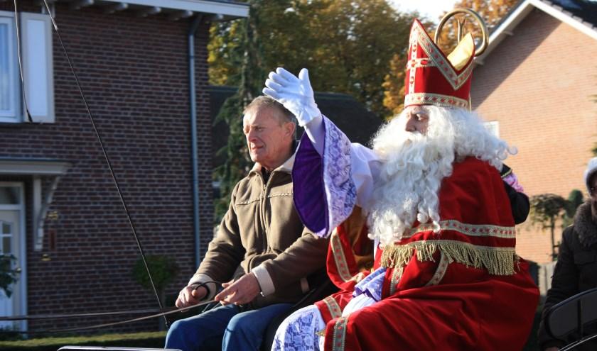Sinterklaas komt 17 november naar Deurne-Zeilberg.