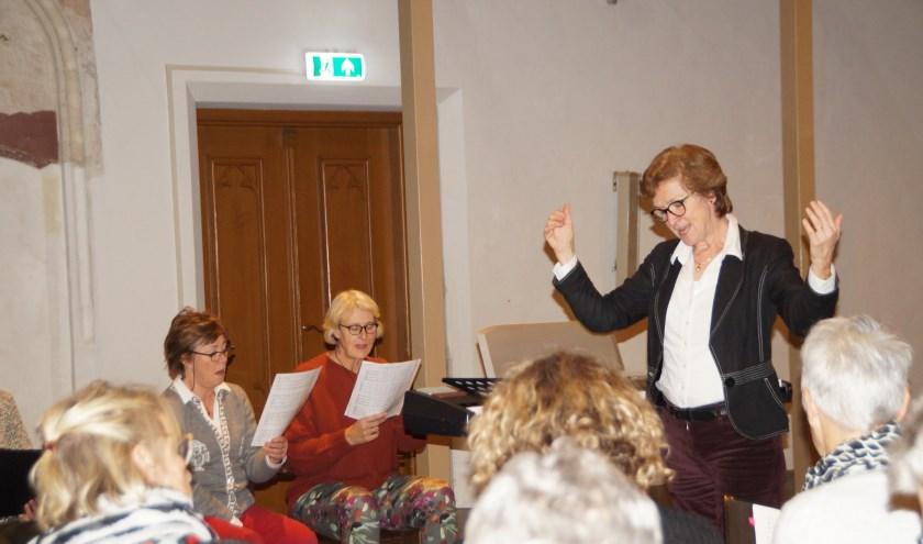 Irene Maessen is de nieuwe dirigente van het Zaltbommels Kamerkoor. Het kerstconcert op 18 december zal haar eerste concert van eigen hand zijn.