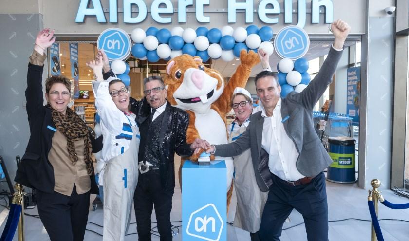 Feestelijke heropening van Albert Heijn Pottenbakkerssingel in Middelburg-centrum