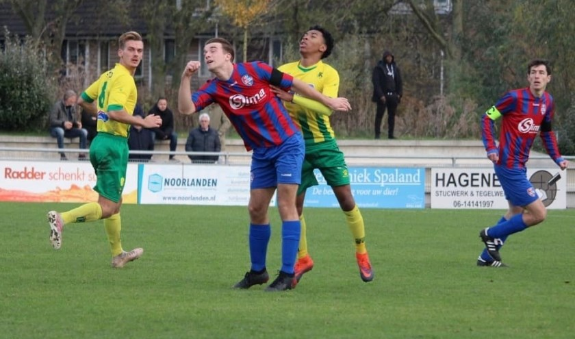 Rijnmond Hoogvliet Sport verliest van Kethel Spaland.