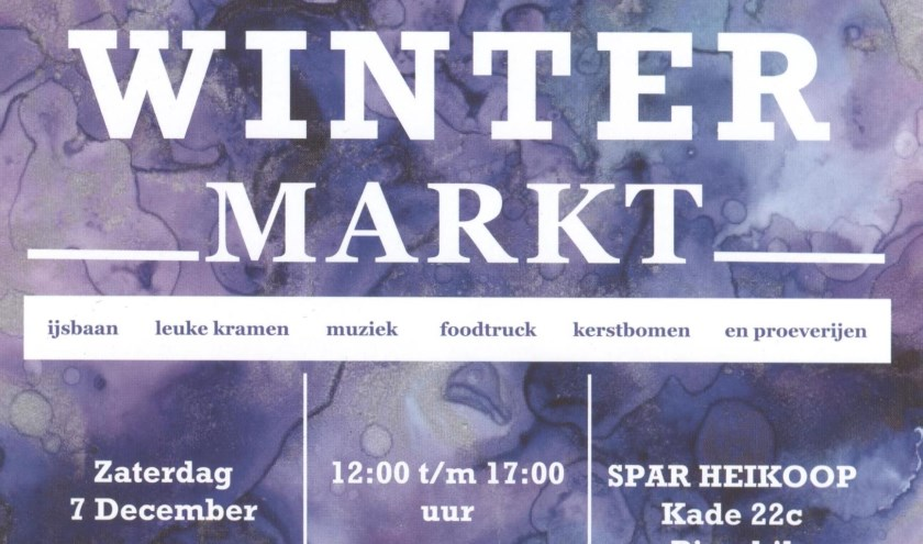 Flyer Wintermakt Piershil