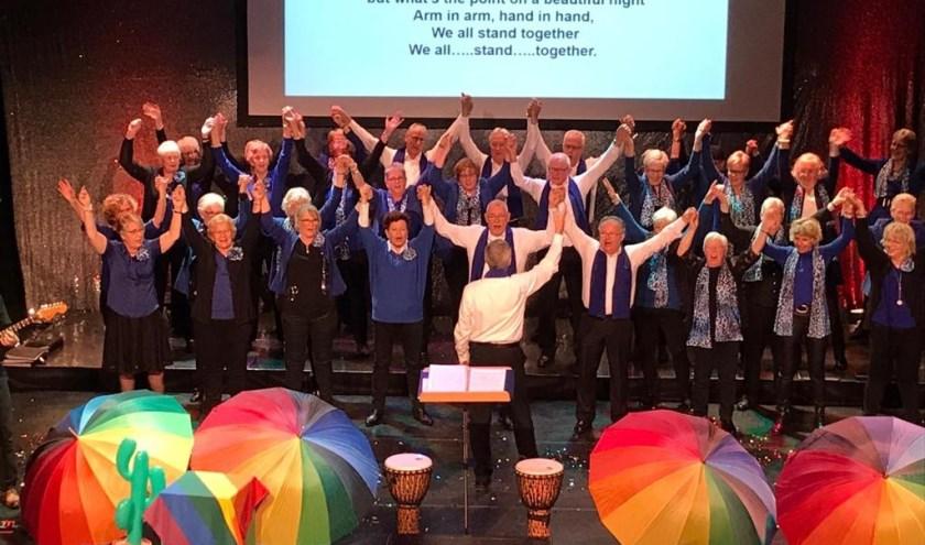 Groot feest afgelopen weekend tijdens het jubileumconcert in het Wennekerpand.