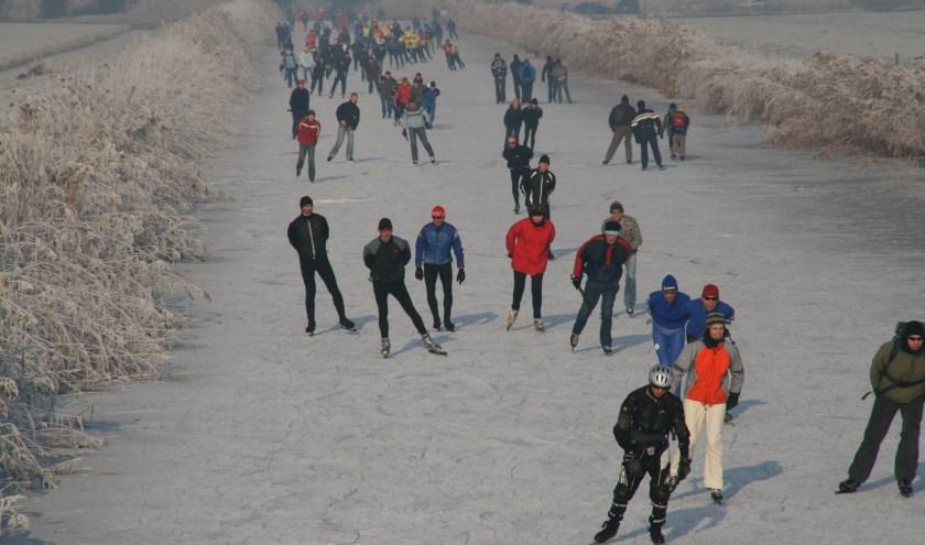 Museum De Koperen Knop staat de komende winter in het teken van het schaatsen. (Foto: Privé)