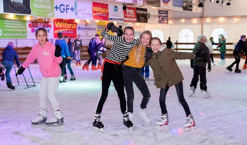 De schaatspas zorgt voor onbeperkt schaatsplezier.