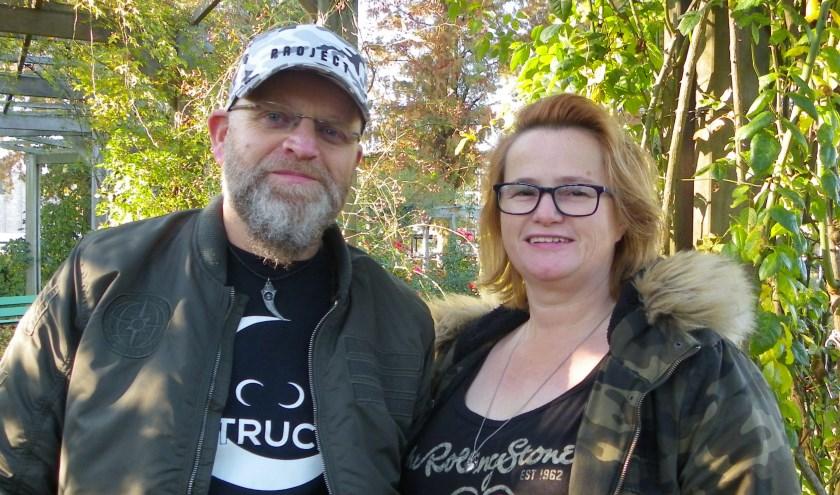 Bianca en Michel Blanken zijn muziekliefhebbers en vrijwilligers in The Cube in Boskoop.