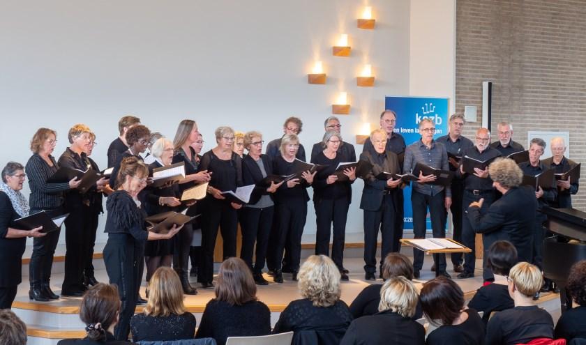 Vocaal Ensemble Cantabile geeft vrijdag haar najaarsconcert in de Grote of Andreaskerk in Hattem.