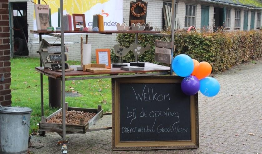 De feestelijke officiële opening van Dagactiviteiten Groot Veen vond plaats op dinsdag 5 november. (foto: Elly Huzen)