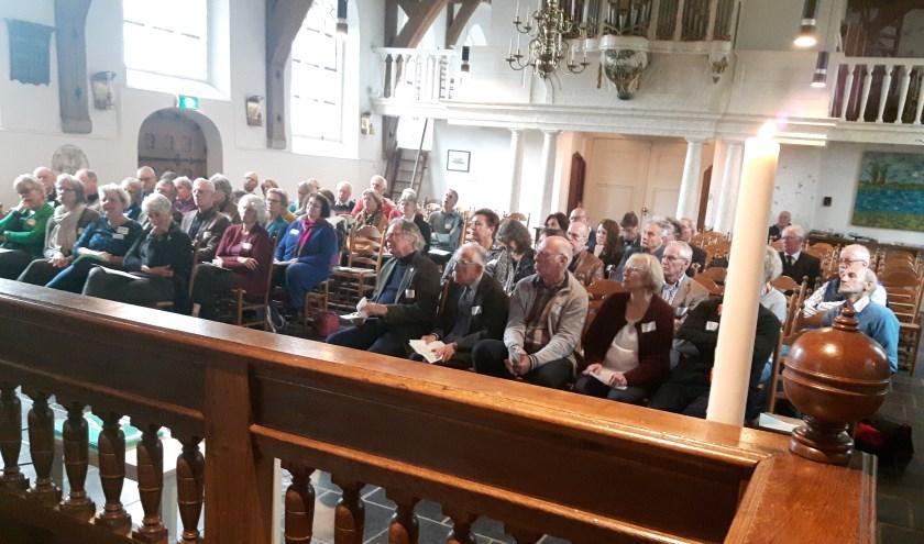 De conferentie. (Foto: Ad van Dongen)