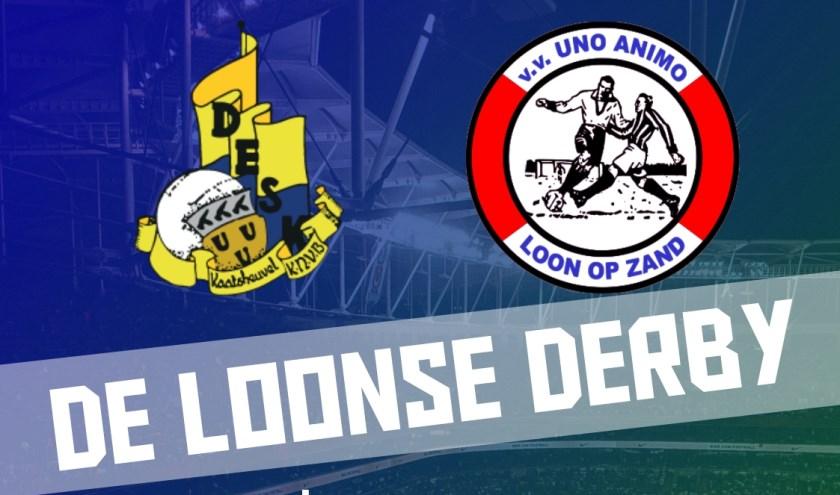 De Loonse Derby DESK - UNO ANIMO wordt gespeeld in Loon op Zand!