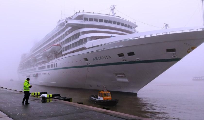 Vooral het Artania is een bijzonder schip.