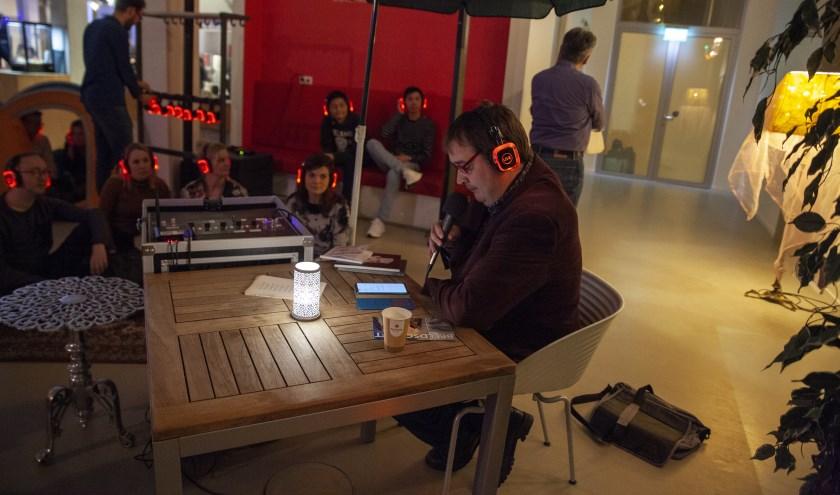 Tijdens De Nachtfabriek kon men allerlei presentaties meemaken. (Foto: PR)