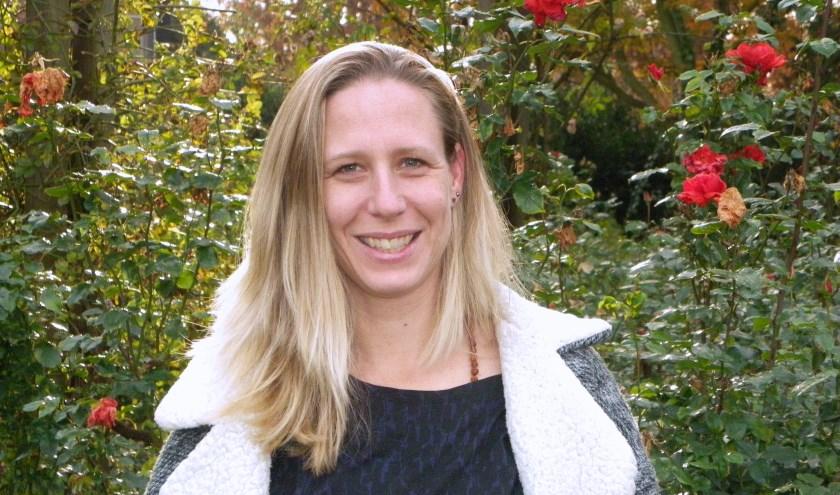 Judith Bank is oprichtster van Caras Alegres, met de stichting stond ze op de Ideële Verkoopdag  in Boskoop.