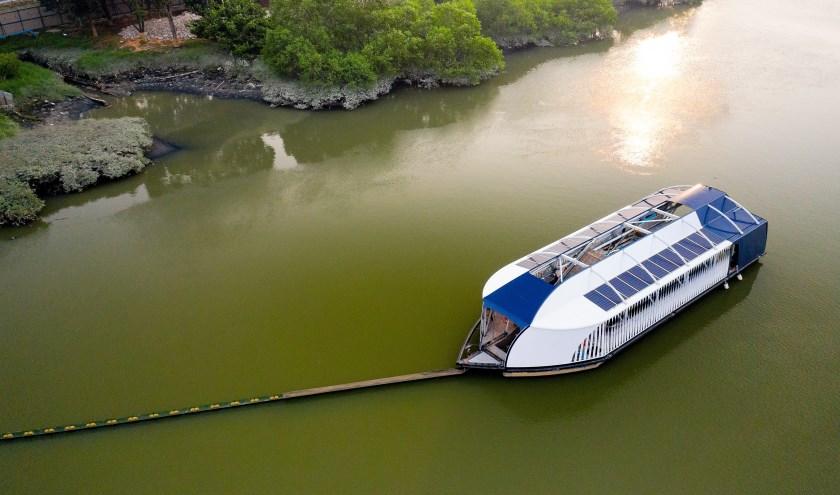 De Interceptor verwijdert plastic uit de meest vervuilde rivieren ter wereld